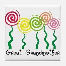Family Gifts Tile Coaster