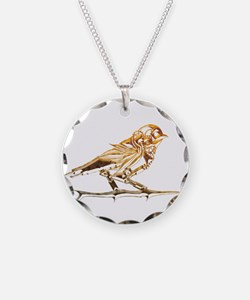 Industrial Finch Necklace