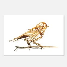 Industrial Finch Postcards (Package of 8)