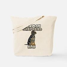 German Shepherd Dad Tote Bag