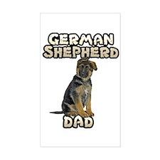German Shepherd Dad Decal