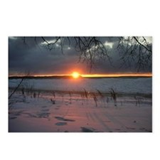 Pyramid Point Sunset Postcards (Package of 8)