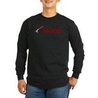 Shaved Daily Long Sleeve Dark T-Shirt
