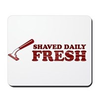 Shaved Daily Mousepad
