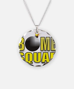 BOMB SQUAD Necklace Circle Charm