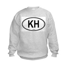 Cambodia (KH) euro Sweatshirt