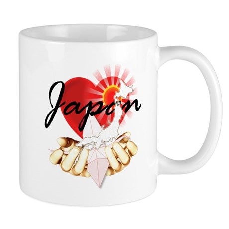 My heart & pray for Japan relief - Mug