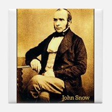 John Snow Tile Coaster