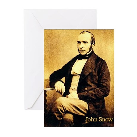 John Snow Greeting Cards (Pk of 20)