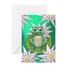 Wonder frog Greeting Card