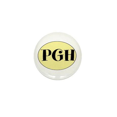 PGH, Pittsburgh, Fun, Mini Button