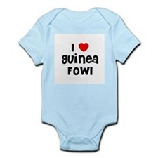 I * Guinea Fowl Infant Creeper