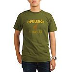 OPULENCE I HAS IT Organic Men's T-Shirt (dark)