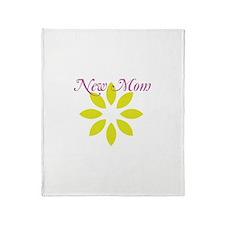 New Mom Throw Blanket