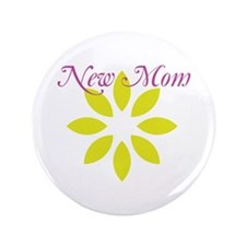 "New Mom 3.5"" Button"