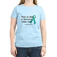 What a Survivor looks like Women's Light T-Shirt