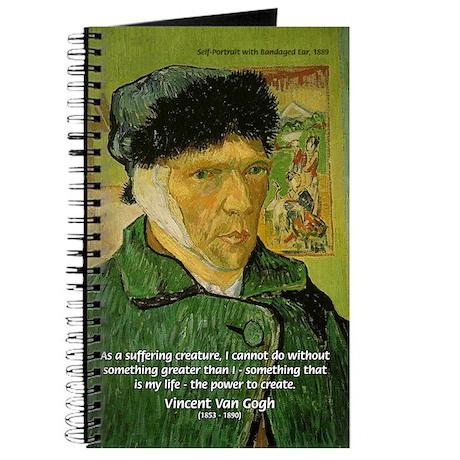 Artist Van Gogh: Suffering Journal