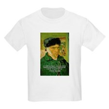 Artist Van Gogh: Suffering Kids T-Shirt