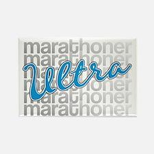 Ultra Marathoner Rectangle Magnet