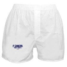 F Cancer Boxer Shorts