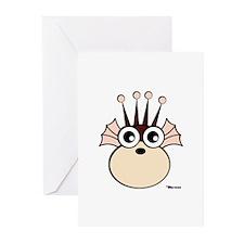 Sea Monkey Greeting Cards (Pk of 10)