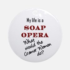 What Would the Cramer Women Do? Ornament (Round)