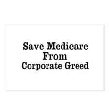 Save Medicare Postcards (Package of 8)