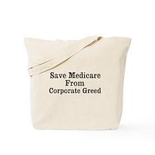 Save Medicare Tote Bag