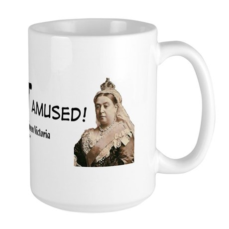 Queen Victoria Large Mug