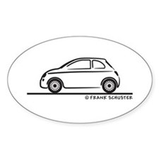 New Fiat 500 Cinquecento Decal