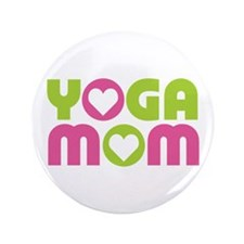 """Yoga Mom 3.5"""" Button (100 pack)"""
