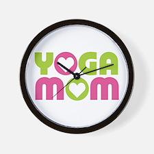 Yoga Mom Wall Clock