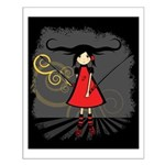 SAMURAI GIRL Small Poster