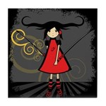 SAMURAI GIRL Tile Coaster