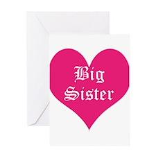 Big Sister, Bright, Greeting Card