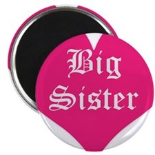 "Big Sister, Bright, 2.25"" Magnet (10 pack)"