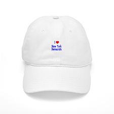 I Love New York Democrats Baseball Baseball Cap