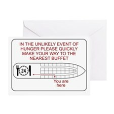 Hunger Emergency Greeting Card