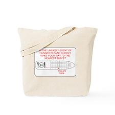 Hunger Emergency Tote Bag