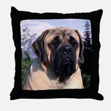 Mastiff 35 Throw Pillow