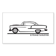 1955 Chevrolet Hardtop Coupe Stickers