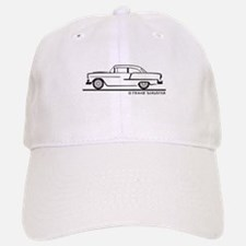 1955 Chevrolet Sedan Two Door Baseball Baseball Cap
