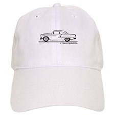 1955 Chevrolet Sedan Two Door Baseball Cap