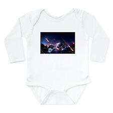 Bmx bandit Long Sleeve Infant Bodysuit