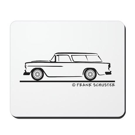 1955 Chevrolet Nomad Bel Air Mousepad