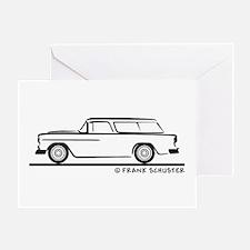 1955 Chevrolet Nomad Bel Air Greeting Card
