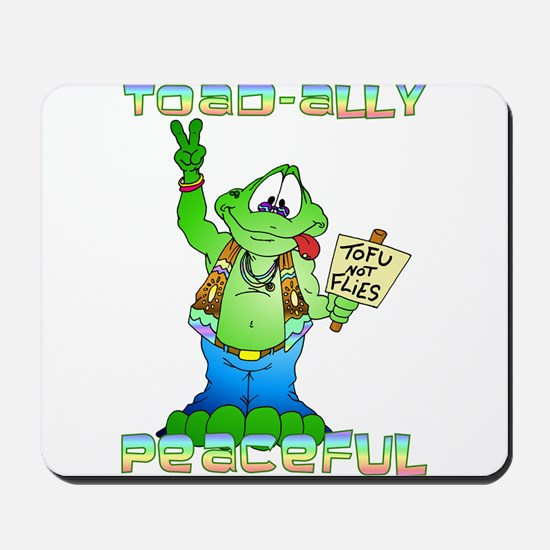 Hippie Toad Mousepad