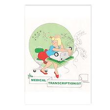 Medical Transcriber Postcards (Package of 8)