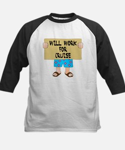 Will Work for Cruise Tee
