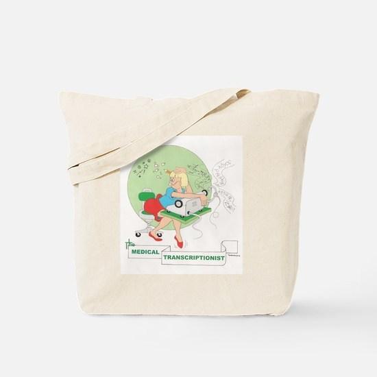 Medical Transcriber Tote Bag